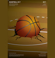 Basketball poster advertising