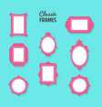 classic frames vector image