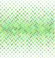 Green abstract geometric pattern background vector image vector image