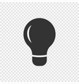 light bulb lamp vector image vector image
