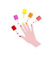 manicure logo image