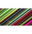 multicolored sliced surface abstract background vector image