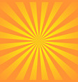 orange yellow background superhero super hero vector image vector image