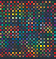 seamless abstract pixel square pattern texture vector image vector image