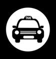 taxi car icon design vector image