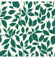 color leaves pattern vector image