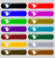 Dove icon sign Big set of 16 colorful modern vector image vector image