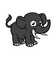 elephant cartoons vector image vector image