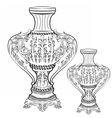 Exquisite Fabulous Imperial Baroque vase decor vector image vector image