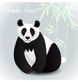 Giant Panda Card vector image