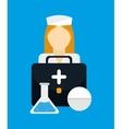 Medical healthcare service vector image vector image