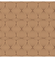 Seamless pattern in coffee tones vector image vector image
