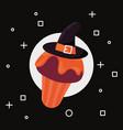 sweet happy halloween vector image