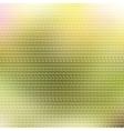 Bright tech triangles design Summer colors vector image