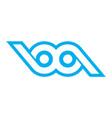 abstract eye vision logo icon vector image vector image