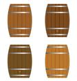 barrel set vector image vector image