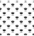 coconut pattern seamless vector image vector image