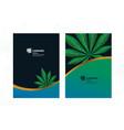 green cannabis leaf background
