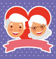 people grandparents characters vector image vector image