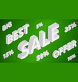 sale and discount background vector image vector image