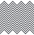 zigzag horizontally seamless pattern for stripes vector image vector image