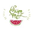 Watermelon print summer vector image