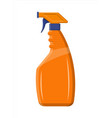 bottle with liquid detergent vector image
