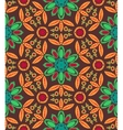 Floral ethnic fall pattern vector image vector image