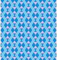 Geometric blue pattern vector image vector image