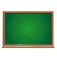 green blackboard vector image