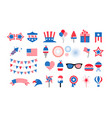 happy usa independence day 4 th july american vector image vector image
