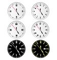 round dials vector image