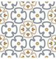 seamless geometric oriental style pattern vector image vector image