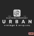 t-shirt print design urban clothing vintage vector image vector image