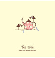 Tea card vector | Price: 1 Credit (USD $1)