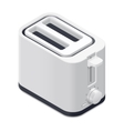 Toaster detailed isometric icon vector image vector image
