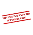 United States Standard Watermark Stamp vector image vector image