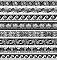 Ancient Greek pattern - seamless set