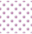 atom pattern seamless vector image vector image