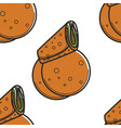 bakery product armenian pita bread or lavash vector image vector image