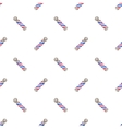 Barber pole Seamless watercolor pattern with