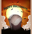 halloween holidays background vector image vector image