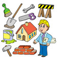 home improvement collection vector image