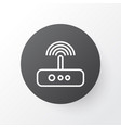 modem icon symbol premium quality isolated switch vector image vector image