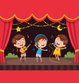 of kids art vector image vector image