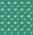 seamless abstract pattern with bananas vector image vector image