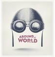 Around the World vector image