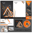 Corporate identity template no 17 1 vector image