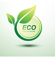 Eco labels3 vector image vector image