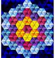 Glass mosaic vector image